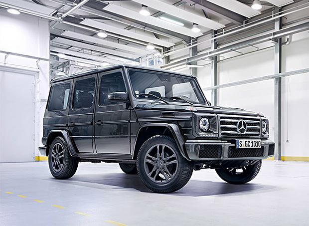 2016 Mercedes-Benz G-Class at werd.com