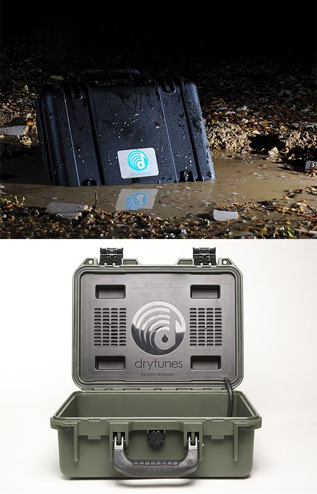 Drytunes Waterproof Speaker at werd.com