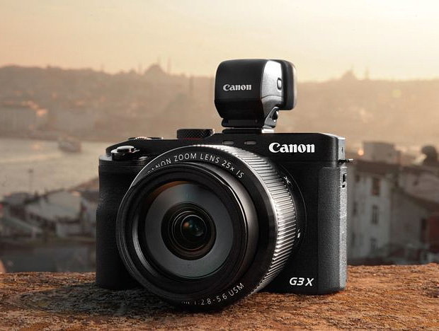 Canon Powershot G3X at werd.com