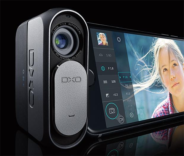 DxO ONE Plug-in iPhone Camera at werd.com