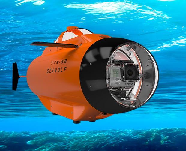 Seawolf GoPro Submarine at werd.com