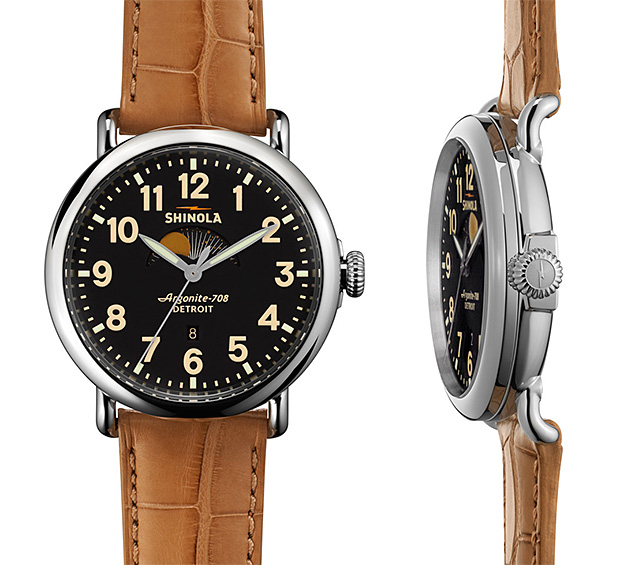 Shinola The Runwell Moon Phase at werd.com