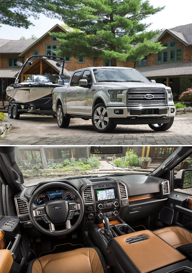 2016 Ford F-150 Limited at werd.com