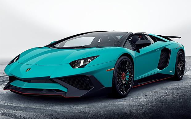 2016 Lamborghini Aventador Superveloce Roadster at werd.com