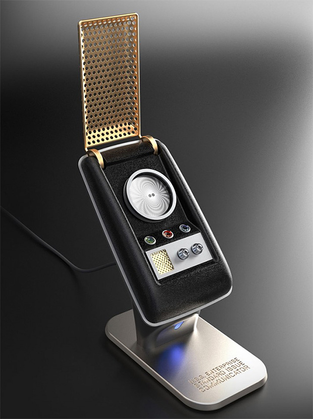 Bluetooth Star Trek Communicator at werd.com