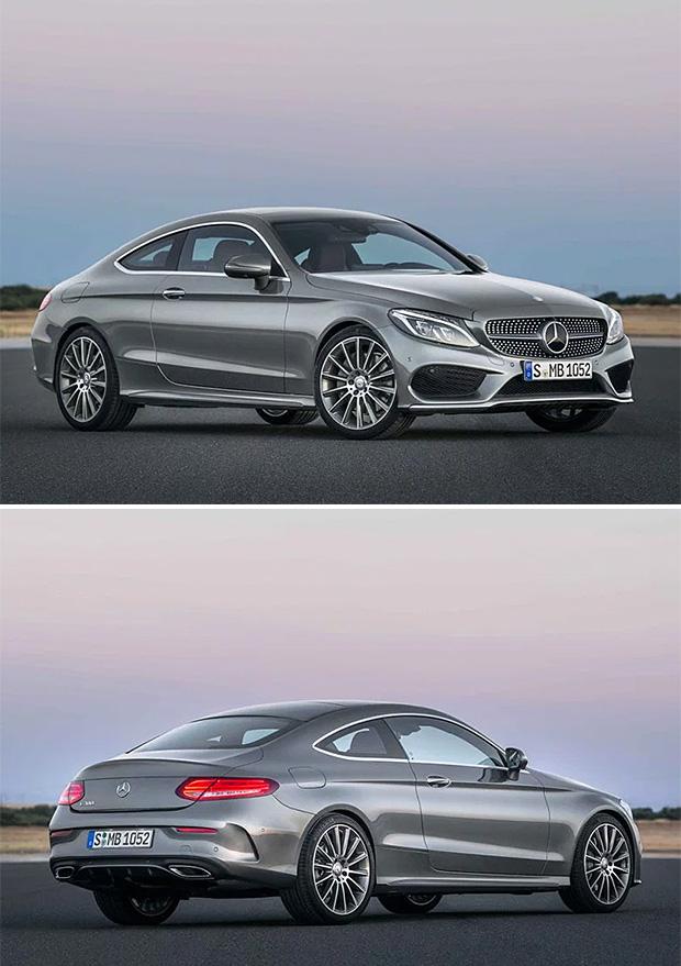 2017 Mercedes-Benz C-Coupe at werd.com