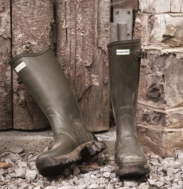 Hunter Field Boots at werd.com