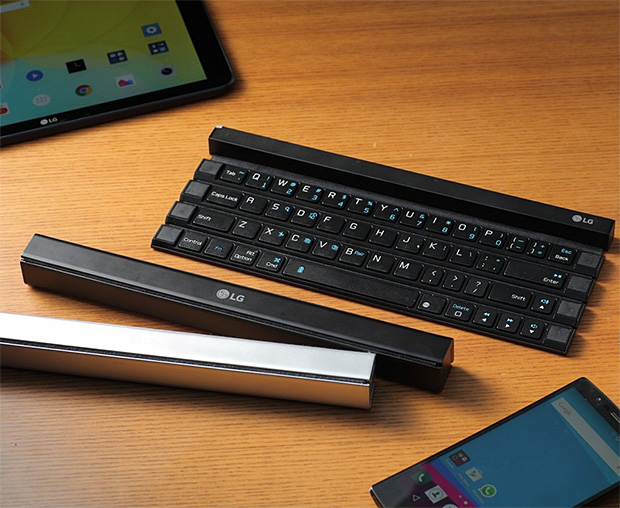 LG Rolly Portable Keyboard at werd.com