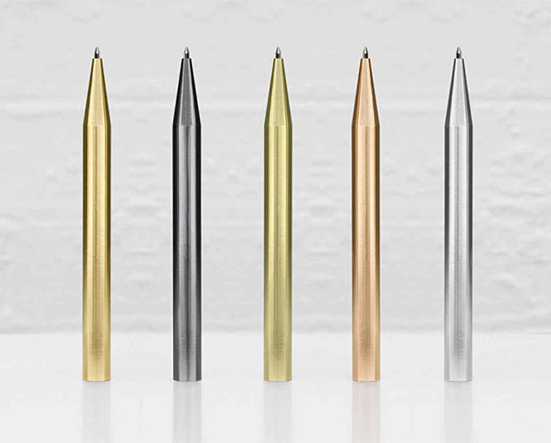 Minimalux Ballpoint Pens at werd.com