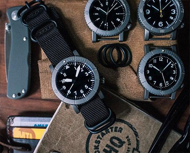 Redux COURG Titanium Hybrid Watch at werd.com