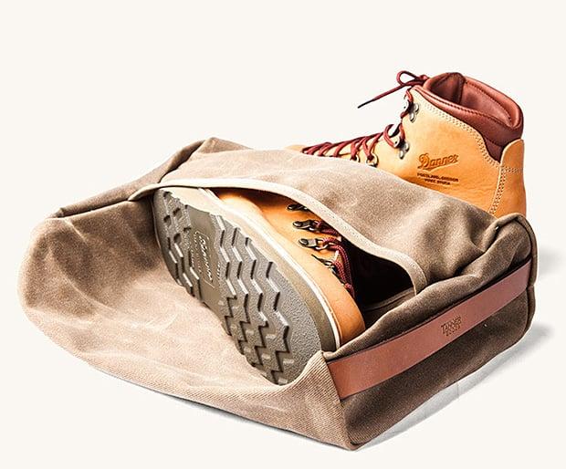 Tanner Goods Stowaway Boot Bag at werd.com