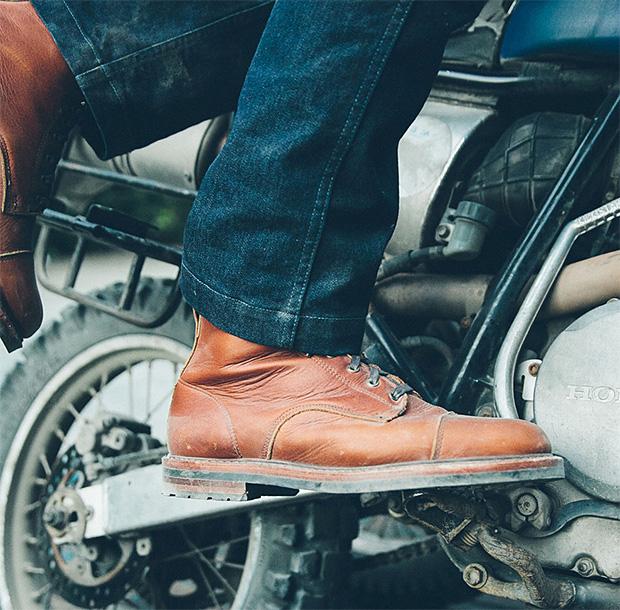 Taylor Stitch Moto Boot at werd.com