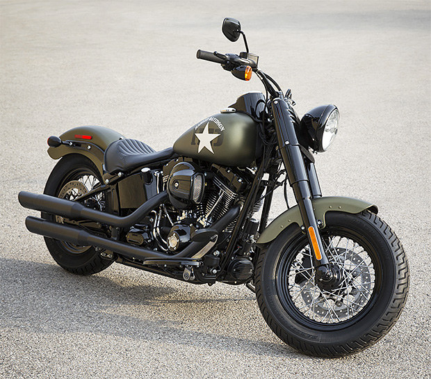 2016 Harley-Davidson Softail Slim S at werd.com