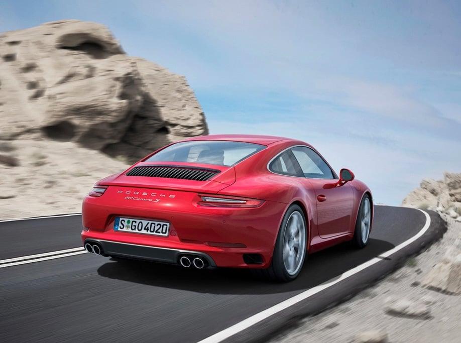 2017 Porsche 911 Carrera at werd.com