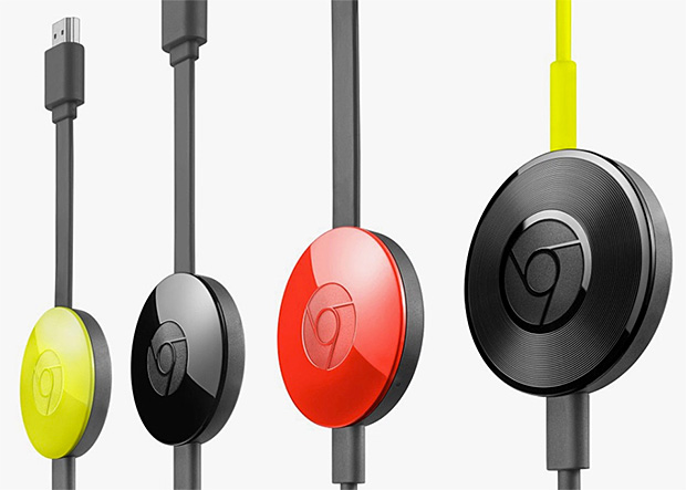 Google Chromecast 2 & Chromecast Audio at werd.com