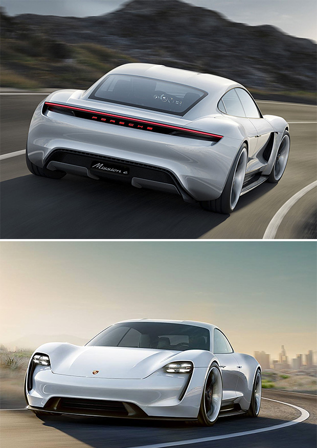 Porsche Mission E Concept at werd.com