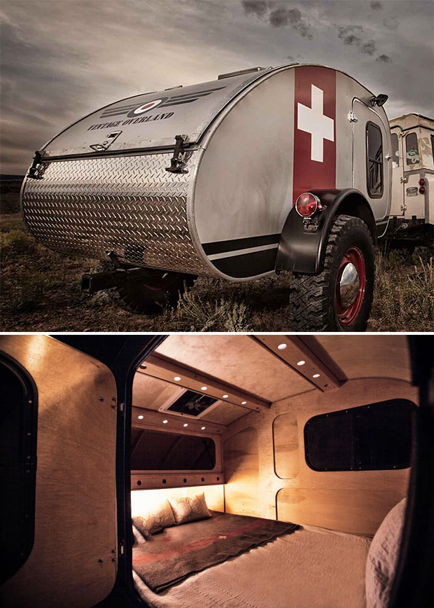 Vintage Overland Teardrop Trailers at werd.com