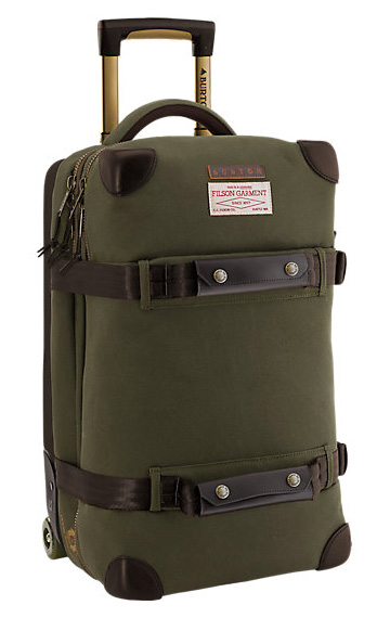 Filson x Burton Wheelie Flight Deck Travel Bag at werd.com