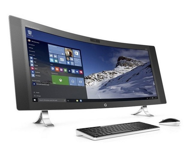 HP Envy Curved All-in-One at werd.com
