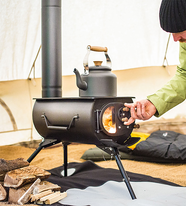 Frontier Plus Portable Woodburning Stove at werd.com