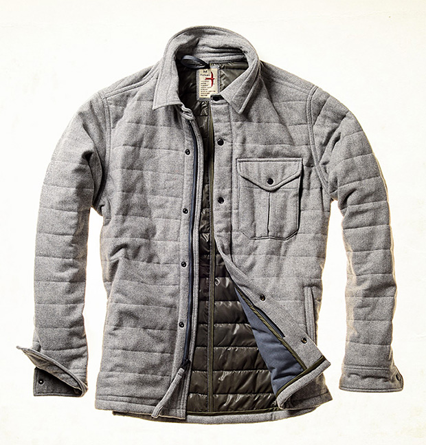 Relwen Channel Field Jacket at werd.com