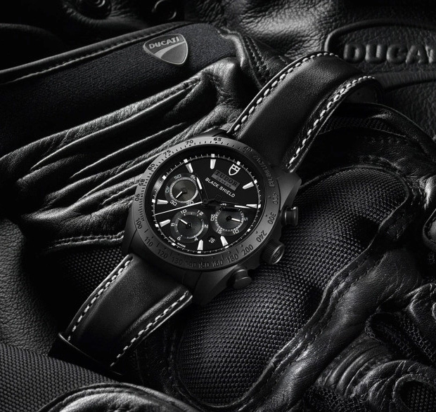 TUDOR Fastrider Black Shield Chronograph at werd.com