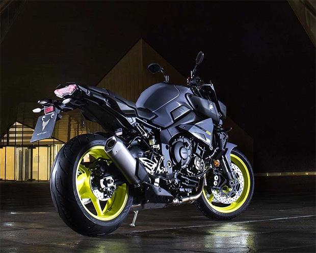 Yamaha MT-10 at werd.com