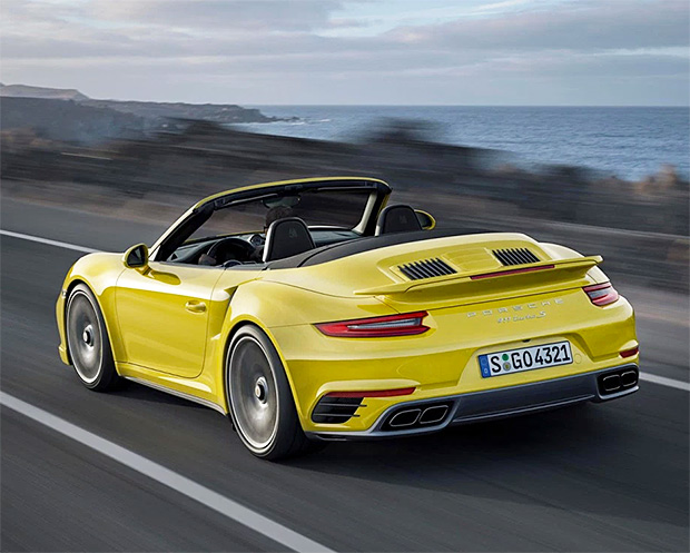 2017 Porsche 911 Turbo and Turbo S at werd.com