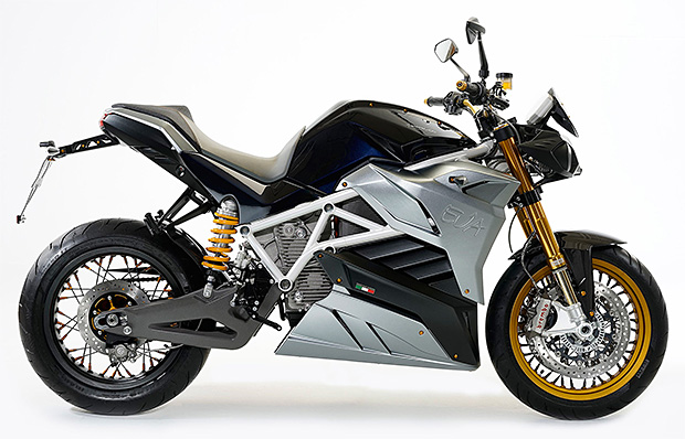 Energica EVA Electric Streetfighter at werd.com