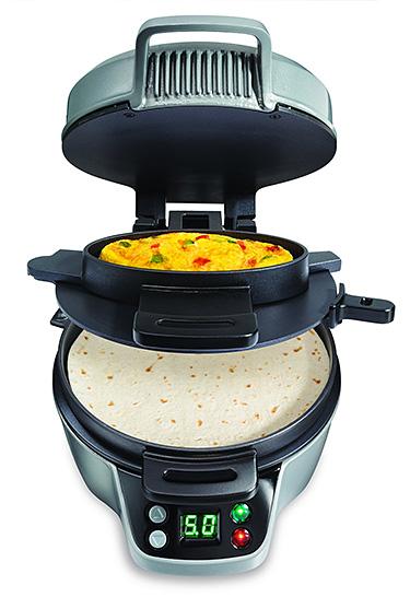 Hamilton Beach Breakfast Burrito Maker at werd.com