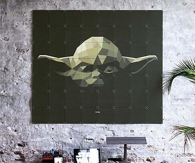 IXXI Star Wars Mosaic Wall Art at werd.com