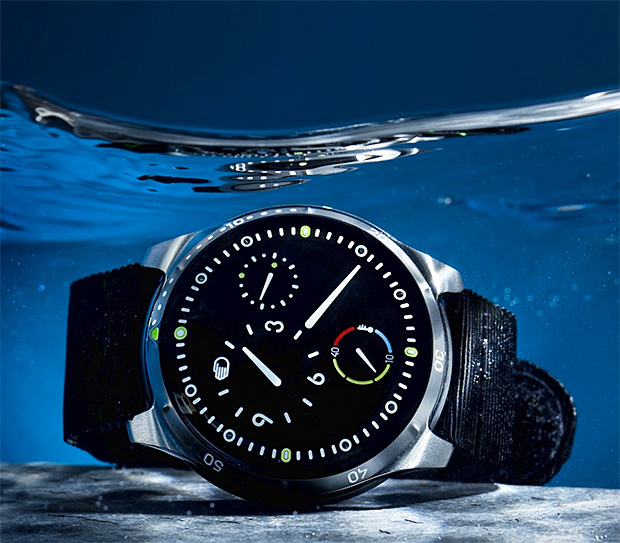 Ressence Type 5 Dive Watch at werd.com