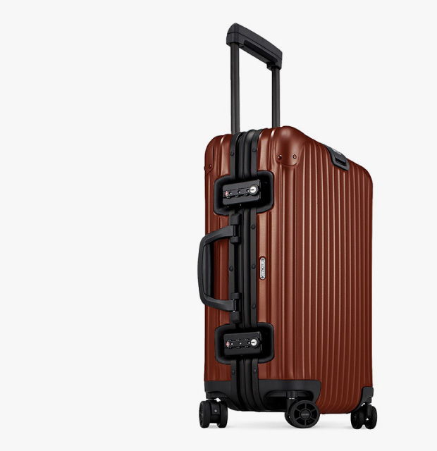 Rimowa Topas Copper Luggage Collection at werd.com