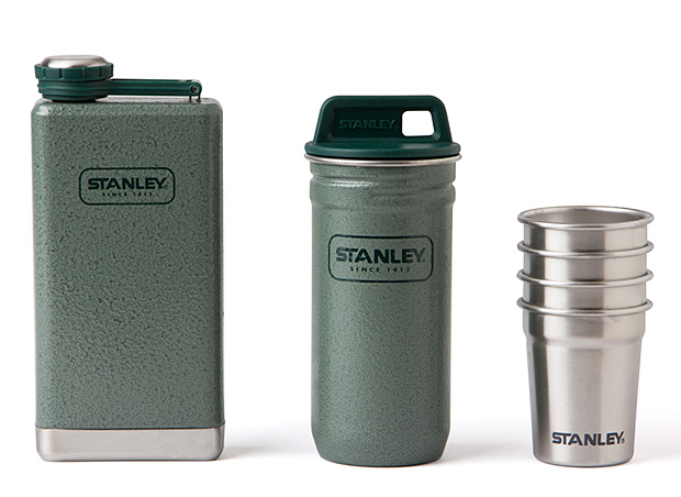 Stanley Stainless Steel Shots + Flask Gift Set at werd.com