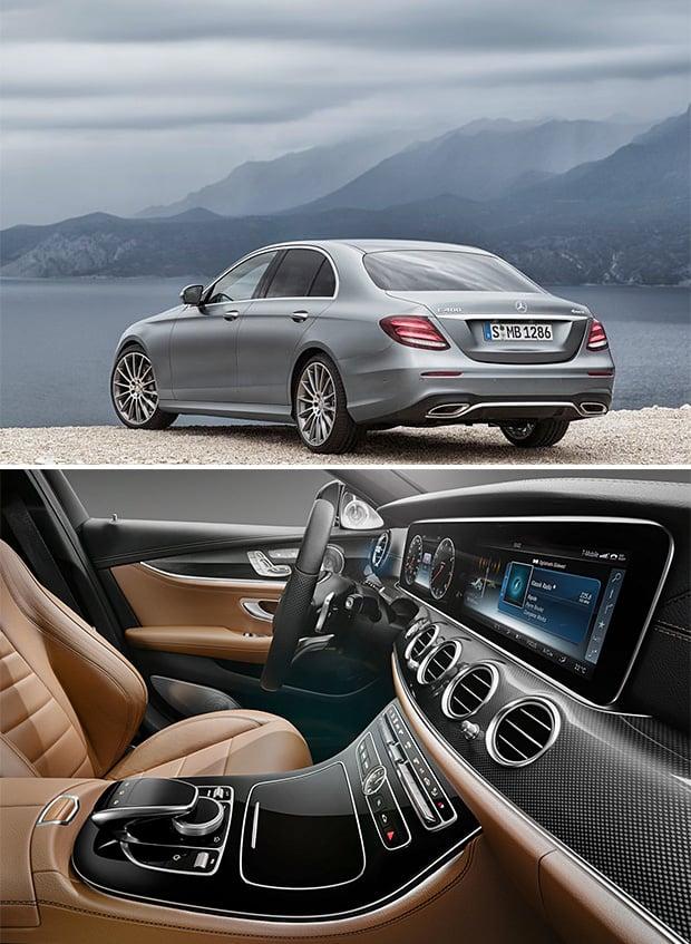 2017 Mercedes E-Class at werd.com