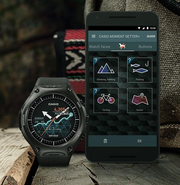 Casio WSD-F10 Smart Outdoor Watch at werd.com