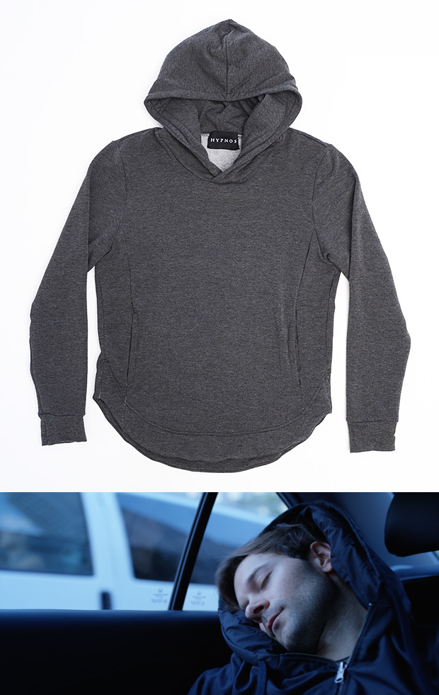 Hypnos Inflatable Hood Sweatshirt at werd.com