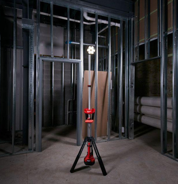 Milwaukee M18 TrueView LED Stand Light at werd.com