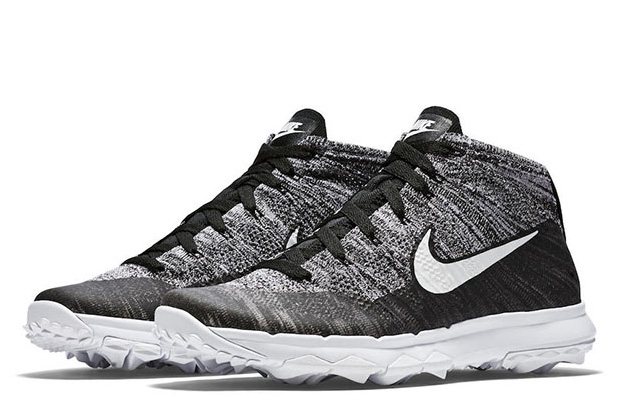 Nike Flyknit Chukka Golf Shoe at werd.com