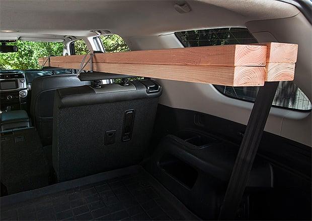 SeatRack Interior Cargo Rack at werd.com