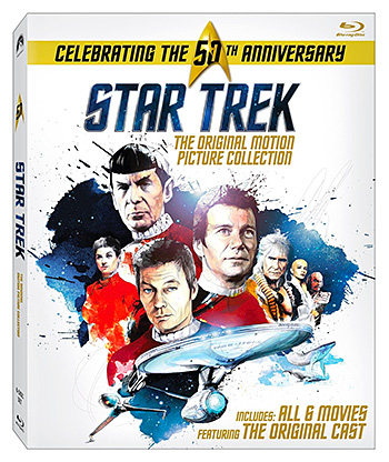 Star Trek: Original Motion Picture Collection 50th Anniversary Edition at werd.com