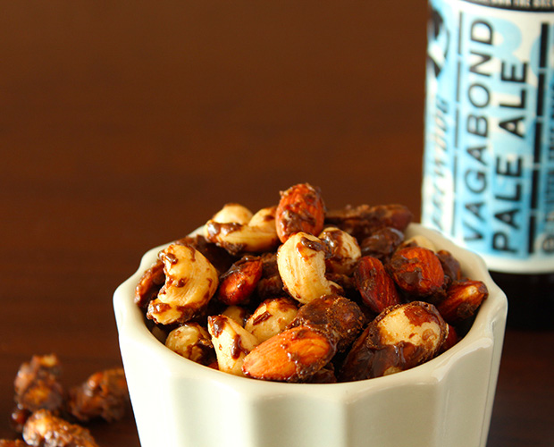 Beer Roasted Nuts at werd.com