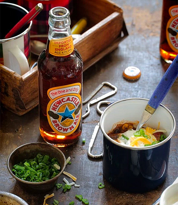 Newcastle Brown Ale Chili at werd.com