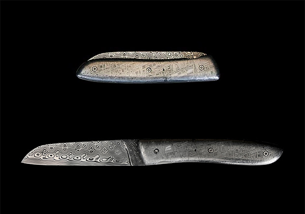 Perceval Meteorite Knife at werd.com