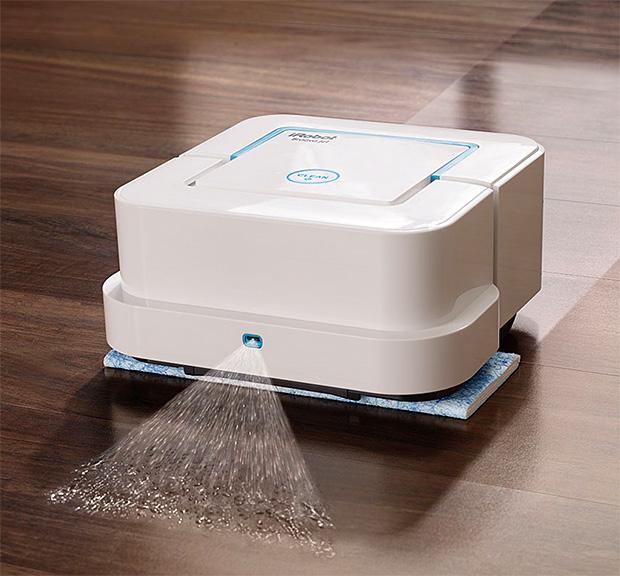 iRobot Braava jet Mopping Robot at werd.com