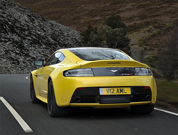 2017 Aston Martin V12 Vantage S at werd.com