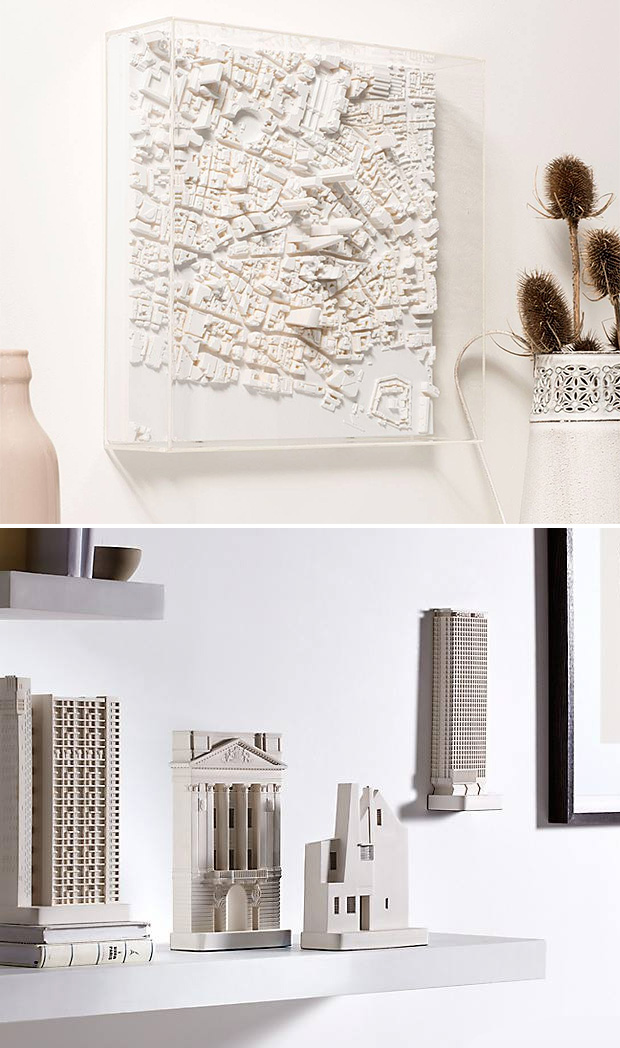 Chisel & Mouse Architectural Sculptures at werd.com