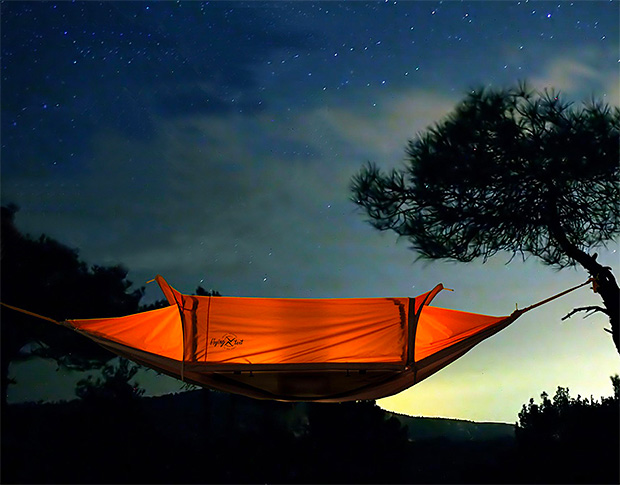 Flying Tent at werd.com