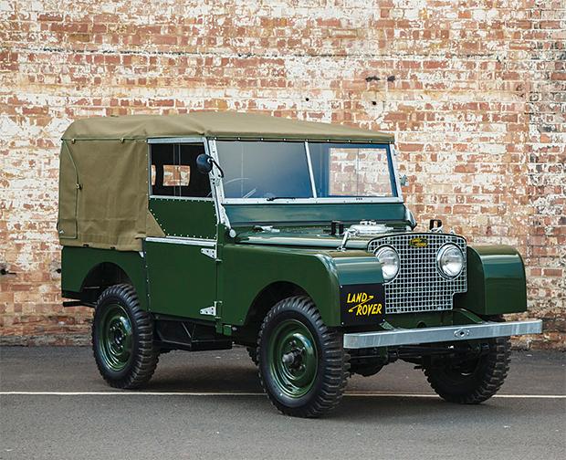 Land Rover Series I 'Reborn' at werd.com
