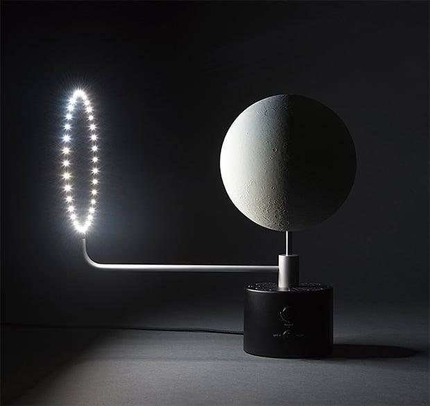 MOON Lunar Globe at werd.com
